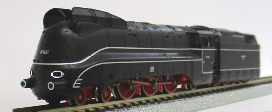 Nゲージ FLEISCHMANN 717403 ドイツ国営鉄道 01.10形蒸気機関車(流 ...